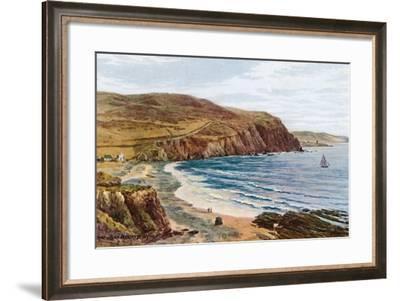 Clarach Bay, Aberystwyth-Alfred Robert Quinton-Framed Giclee Print