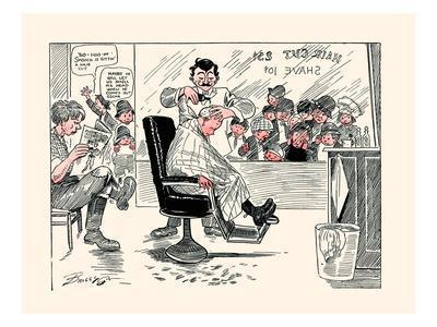 The First Barber Shop Hair Cut