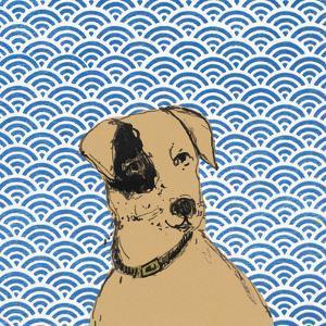 Boho Dogs I by Clare Ormerod