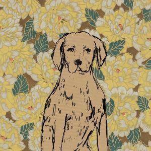 Boho Dogs III by Clare Ormerod