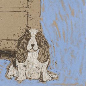 Boho Dogs V by Clare Ormerod