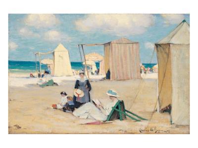 Beach at Dinard