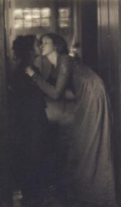 The kiss (le baiser) by Clarence White