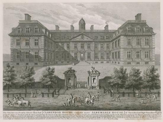 Clarendon House, also known as Albemarle House--Giclee Print