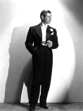Clark Gable, January 17, 1935