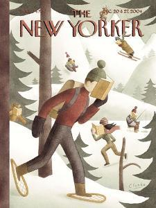 The New Yorker Cover - December 20, 2004 by Clarke