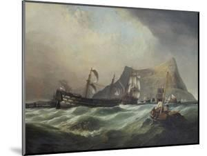 Neptune, Towing the Victory Into Gibraltar Harbour After the Battle of Trafalgar by Clarkson Stanfield