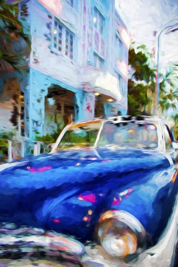 Classic American Car III - In the Style of Oil Painting-Philippe Hugonnard-Giclee Print