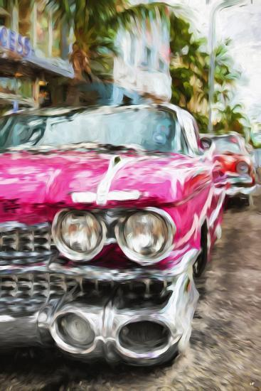 Classic American Car IV - In the Style of Oil Painting-Philippe Hugonnard-Giclee Print