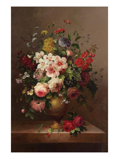 Classic Bouquet II--Art Print