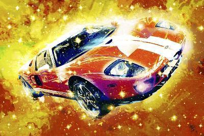 Classic Car Ford GT V-Fernando Palma-Giclee Print