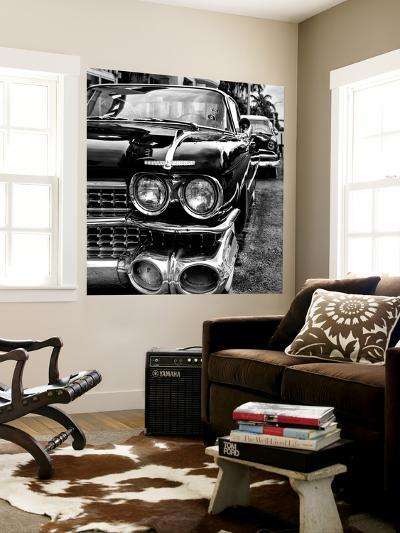 Classic Cars of Miami Beach-Philippe Hugonnard-Wall Mural