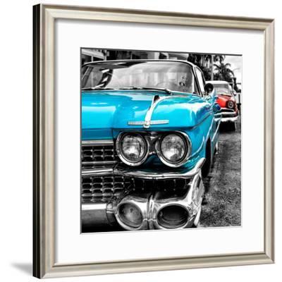 Classic Cars of Miami Beach-Philippe Hugonnard-Framed Photographic Print