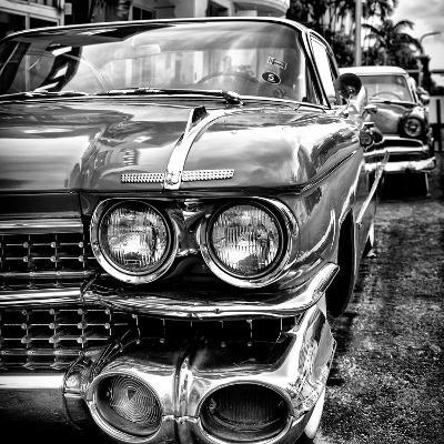 Classic Cars of Miami Beach-Philippe Hugonnard-Photographic Print