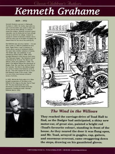 Classic Children's Authors - Kenneth Grahame--Art Print