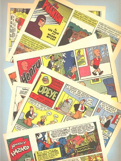 Classic Comic Books--Art Print