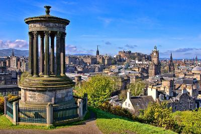 Classic Edinburgh View-Jeni Foto-Photographic Print