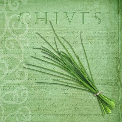 Classic Herbs Chives-Cora Niele-Photographic Print