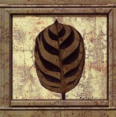 Classic Leaf Square I-Pierre Fortin-Art Print