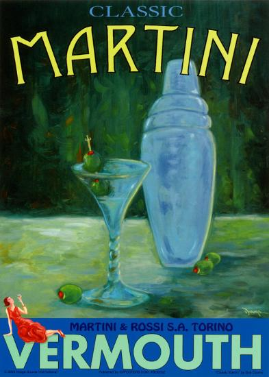 Classic Martini-Robert Downs-Art Print