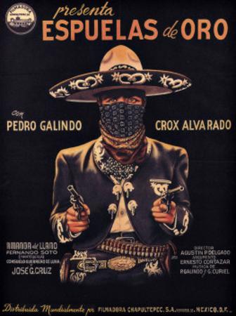 Classic Mexican Movie: Espuelas