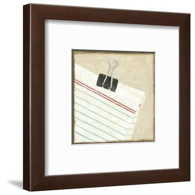 Classic Office VII-Chariklia Zarris-Framed Art Print