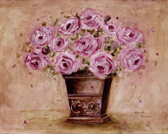 Classic Pink Roses-Antonette Bowman-Art Print