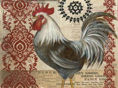 Classic Rooster II-Kimberly Poloson-Art Print
