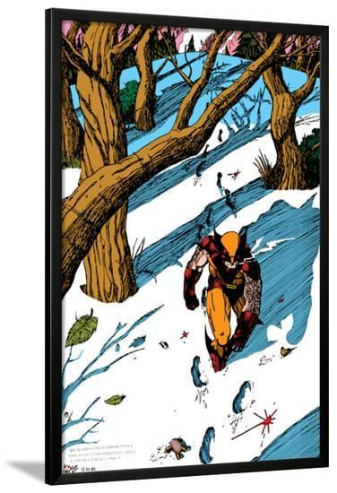 Classic X-Men No.23: Wolverine-John Bolton-Lamina Framed Poster