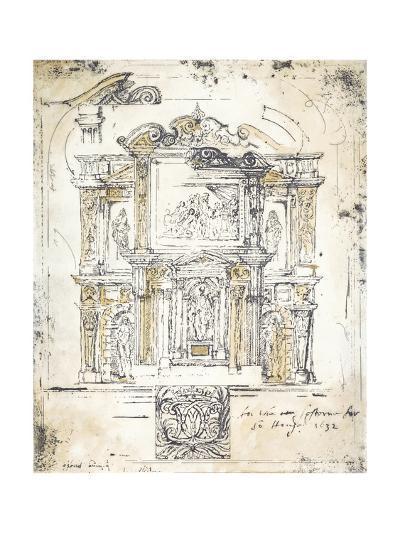 Classical Building 2-Elizabeth Jardine-Premium Giclee Print