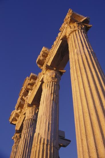 Classical Column, Low Angle View-Design Pics Inc-Photographic Print