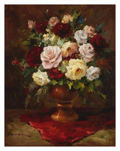 Classical Flower Arrangement-Janek-Art Print