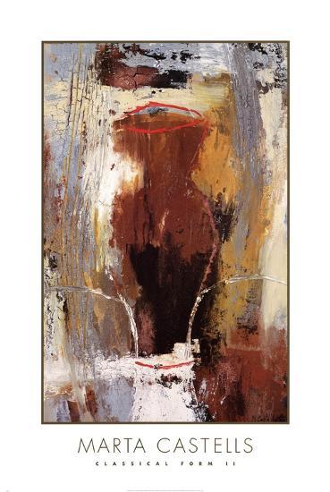 Classical Form II-Marta Castells-Art Print
