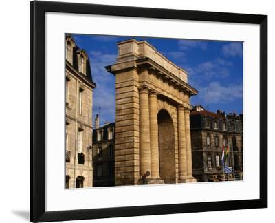Classical Gate to City, Bordeaux, France-Wayne Walton-Framed Photographic Print