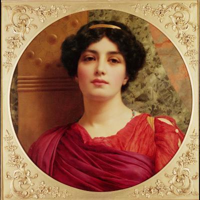 Classical Lady-John William Godward-Giclee Print