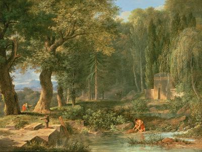 Classical Landscape-Pierre Henri de Valenciennes-Giclee Print