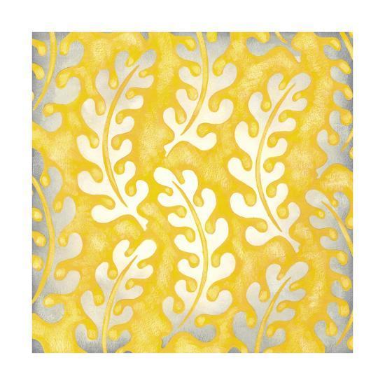 Classical Leaves I-Chariklia Zarris-Premium Giclee Print