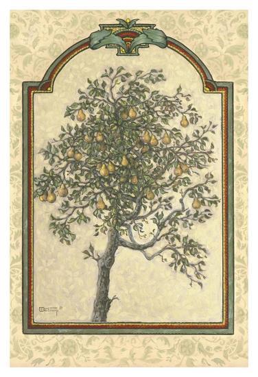 Classical Pear-Janet Kruskamp-Art Print