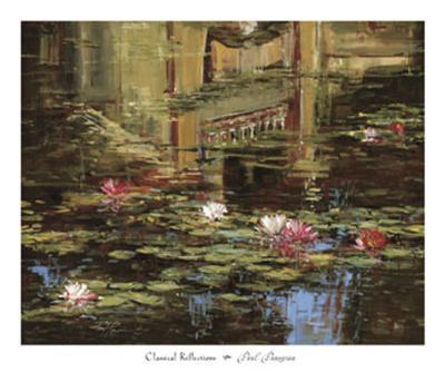 Classical Reflections-Paul Panossian-Art Print