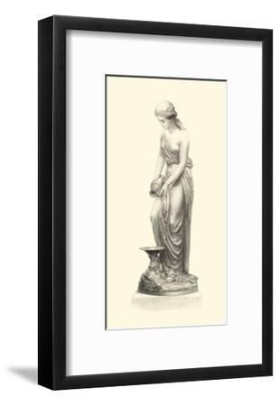 Classical Statuary II--Framed Art Print