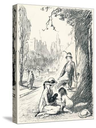 In Kensington Gardens - Stage Six, C1920