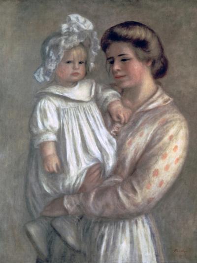 Claude and Renee, 1904-Pierre-Auguste Renoir-Giclee Print