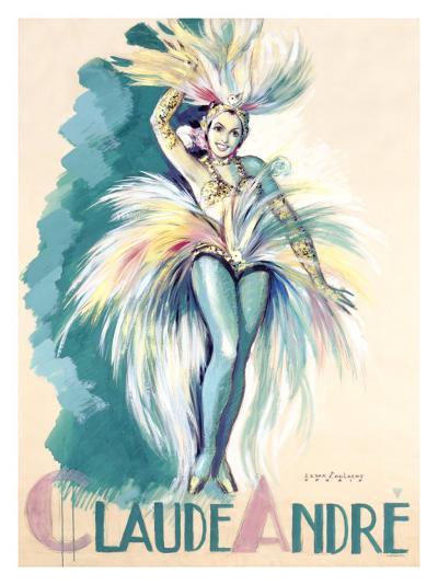 Claude Andree Maquette-Jean-Dominque Van Caulaert-Giclee Print