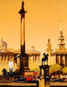 London, Trafalgar Square, 1948-1965 by Claude Buckle