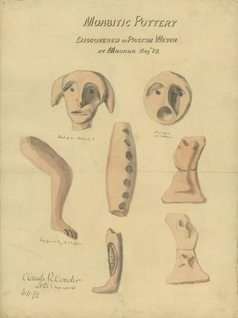 Moabitic Pottery from Mr Shapira's 2nd Collection, 1872