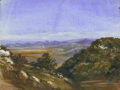 The Mahrakah and View over the Plain to Jezreel, 1872