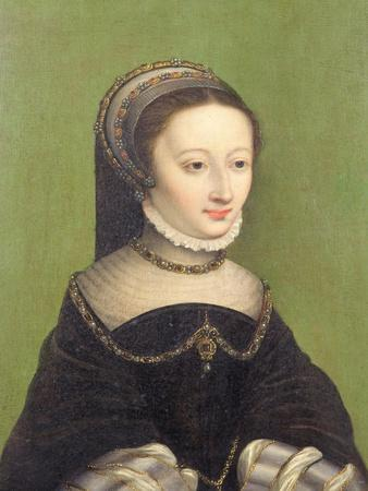 Portrait of a Lady, Said to be Jeanne D'Albret, Mother of Henri IV of France