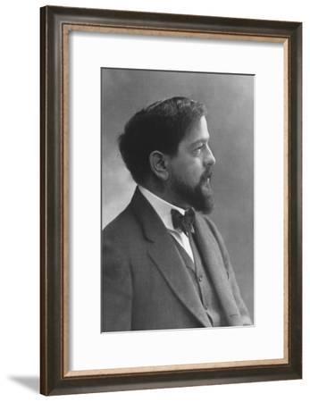 Claude Debussy (1862-191), French Composer-Felix Nadar-Framed Giclee Print