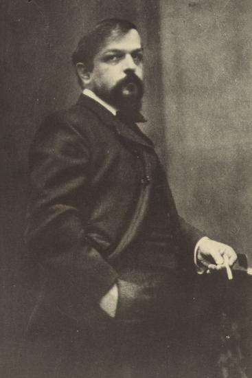 Claude Debussy, French Composer (1862-1918)--Photographic Print