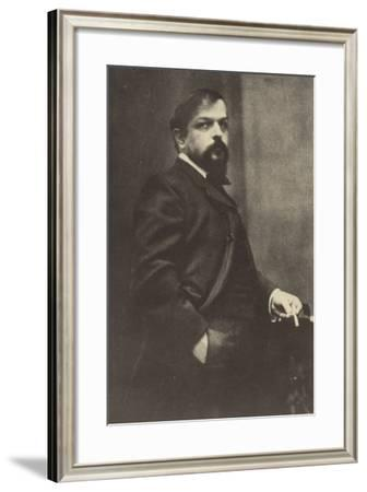 Claude Debussy, French Composer (1862-1918)--Framed Photographic Print
